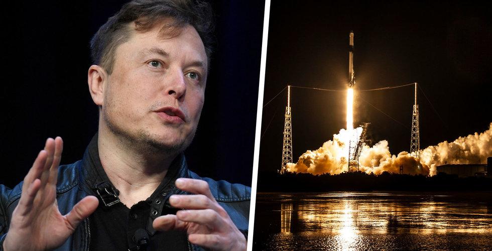 Elon Musks Spacex passerar drömgräns – värderas till över 100 miljarder dollar