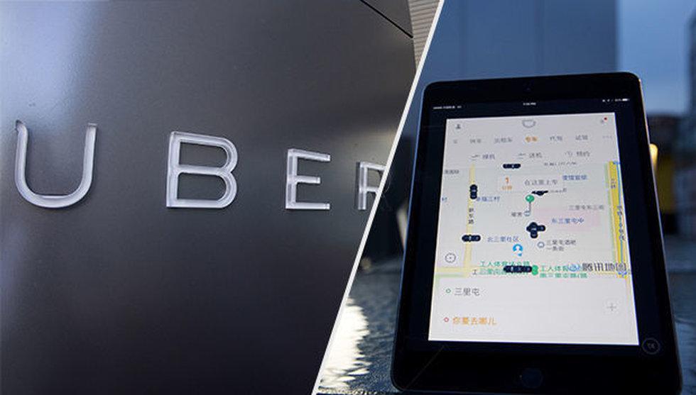 Breakit - Uber och Didi i ny allians - slår samman sina kinesiska bolag