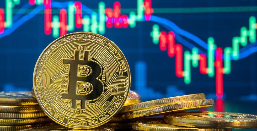 Bitcoin studsar tillbaka på måndagen
