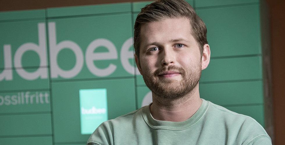 Budbee ökar 200 procent – siktar mot miljarden
