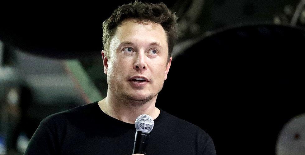 """Elon Musks utspel får Tesla-aktien att stiga: """"Vi har inga problem"""""""