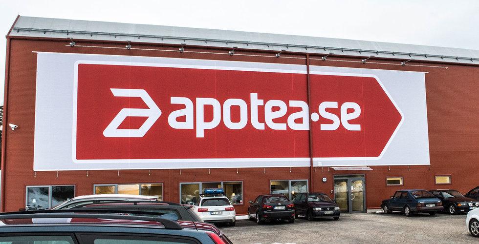 Apotea bygger Sveriges största solcellstak