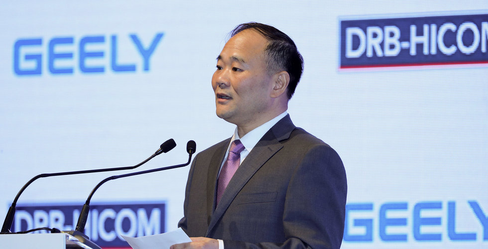 Uppgifter: Kina ger tummen upp för Geelys intåg i Volvo