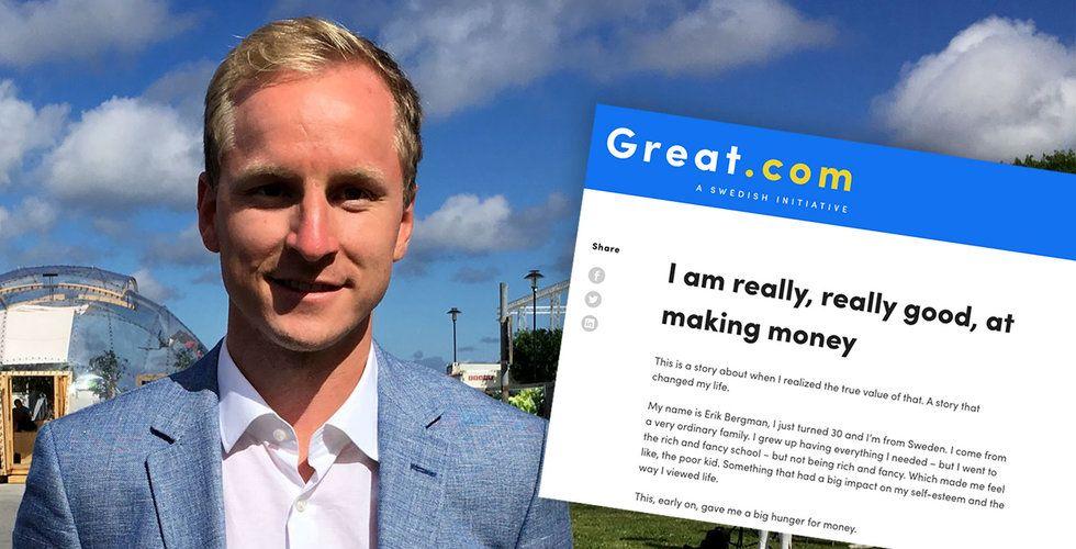 Blev stenrik på kasino – nu satsar Erik Bergman miljoner på välgörenhet