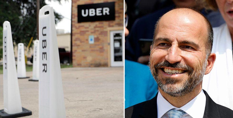 Uppgifter: Nu går startskottet för Ubers börsnotering