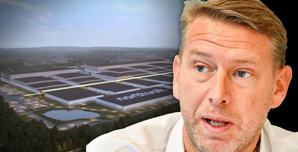 Northvolt vill se brytning av kobolt i Sverige