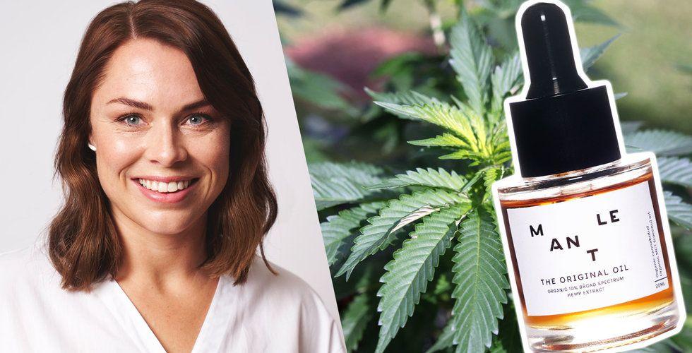 Kry-grundarens Josefin Landgård nya startup Mantle ska sälja CBD-olja