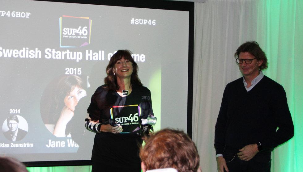 Stjärnängeln Jane Walerud väljs in i Swedish Startup Hall of Fame
