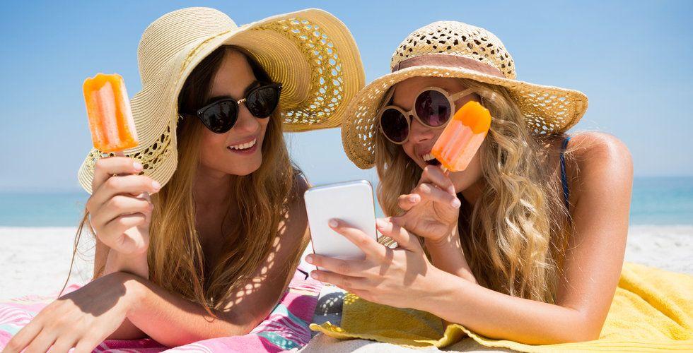 Nätköp via mobilen har totaldominerat i sommar