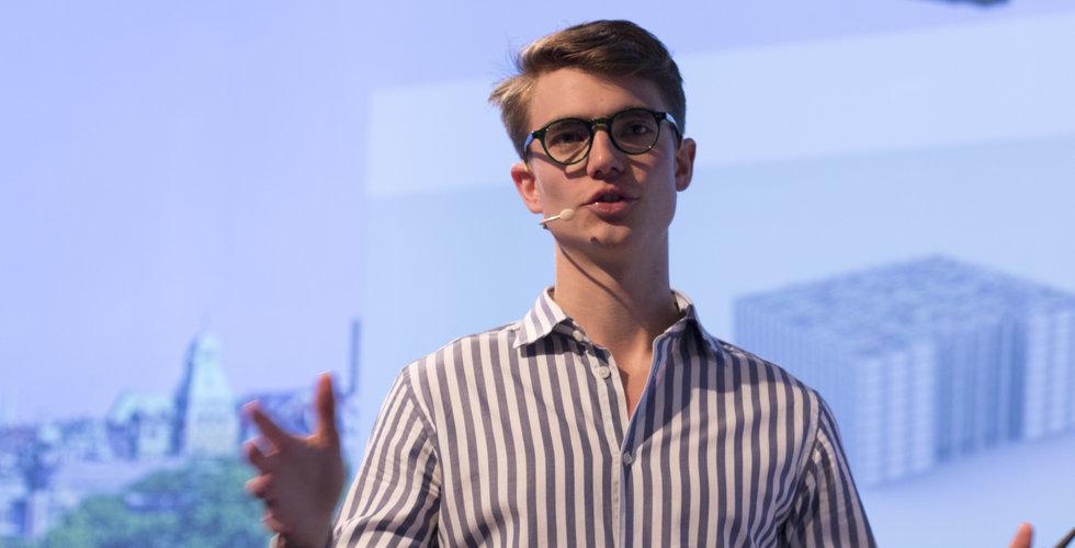Han spränger 200-miljonersvallen – med köksprylar på nätet