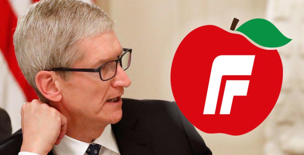 Apple i äpple-bråk med norskt regeringsparti: Risk för förväxling