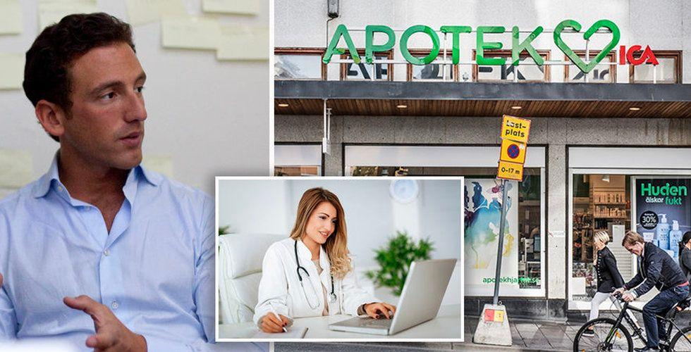 Grönt ljus för jätteaffären – Apotek Hjärtat får köpa in sig i Min Doktor