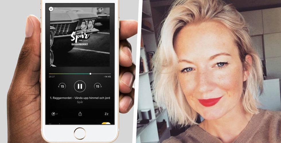 Josephine Forssjö blir ny toppchef på svenska podcastjätten