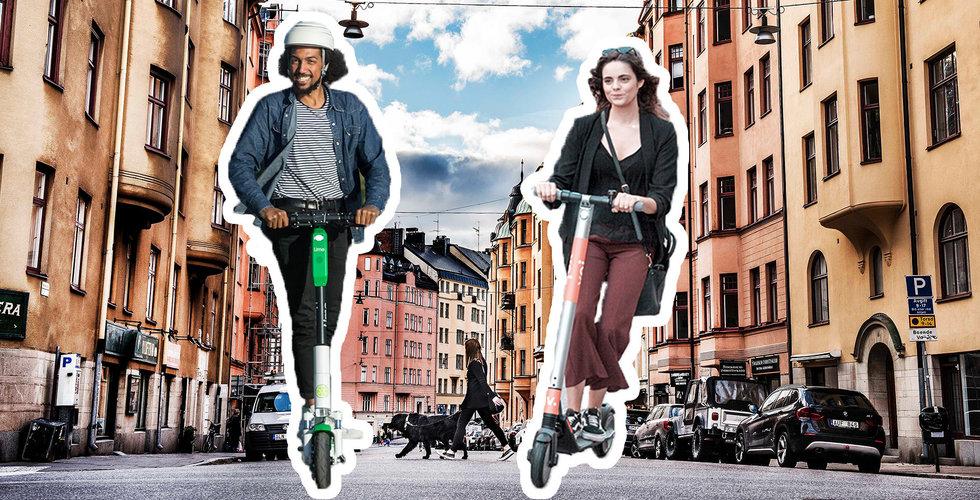 Elscooter-tjänsterna överrens med Stockholm stad – ska begränsas
