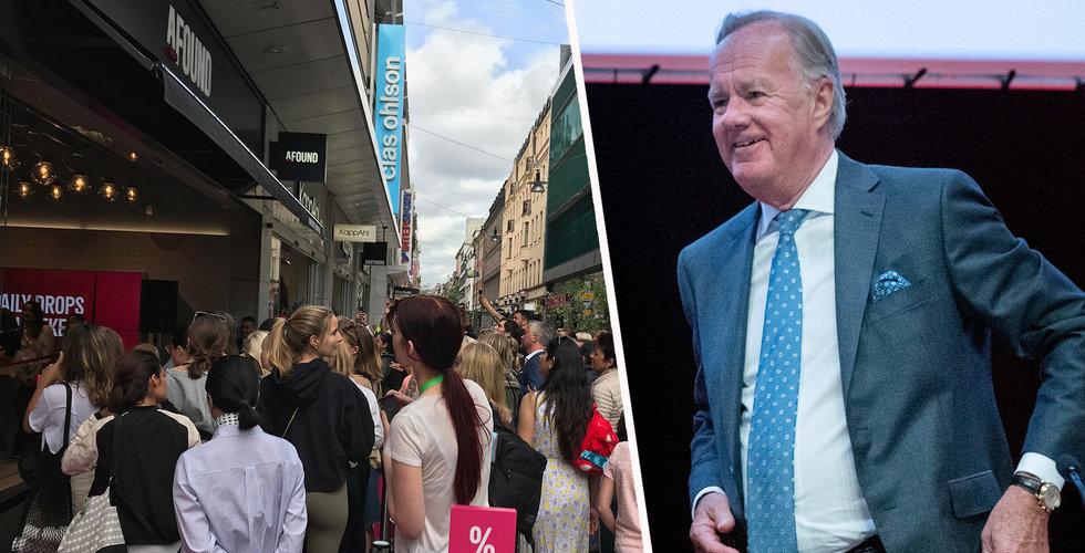 Nu kommenterar H&M:s Stefan Persson själv uppgifterna om ett utköp
