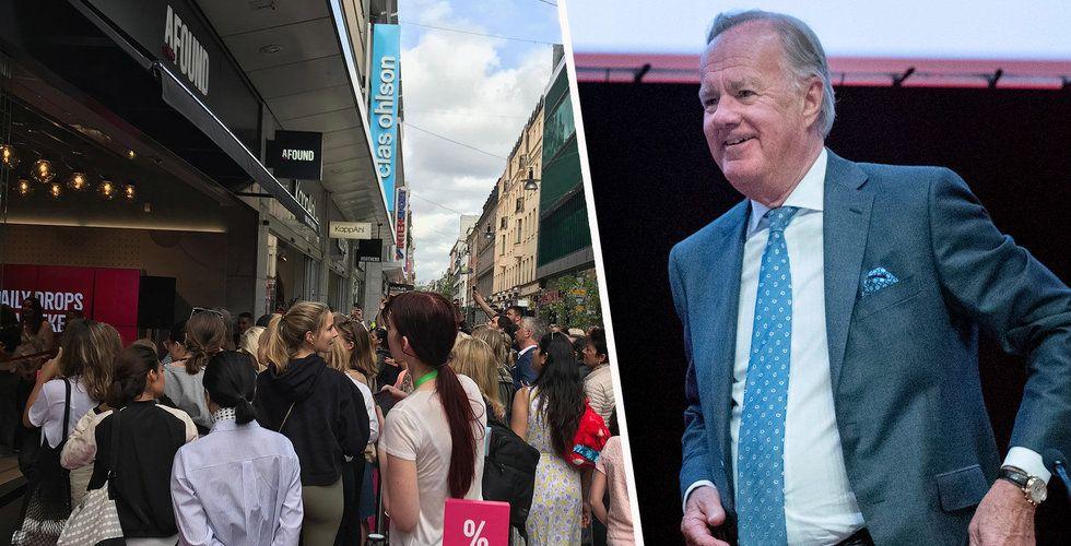 Breakit - Nu kommenterar H&M:s Stefan Persson själv uppgifterna om ett utköp