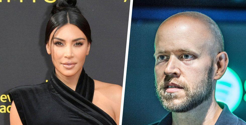 Kim Kardashian ska göra podcast åt Spotify
