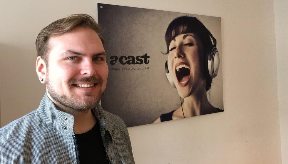 """Breakit - Acast värvar ny utvecklare: """"Gillar uppstickarkänslan hos startups"""""""