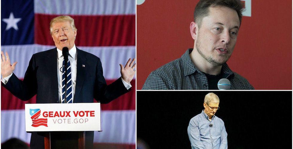 Breakit - Här är techprofilerna som träffar Trump – och de som tackar nej