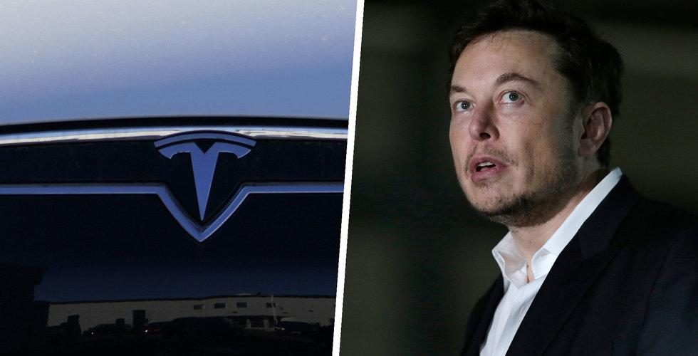 Tesla har över 10 000 fordon på vänt – kan bli logistisk mardröm