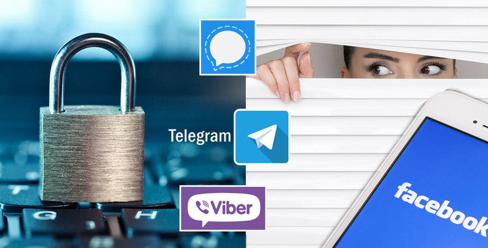 Breakit - Chatta hemligare – fem appar som krypterar dina meddelanden