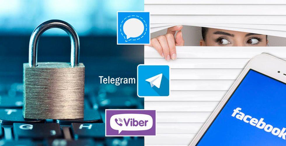 Chatta hemligare – fem appar som krypterar dina meddelanden