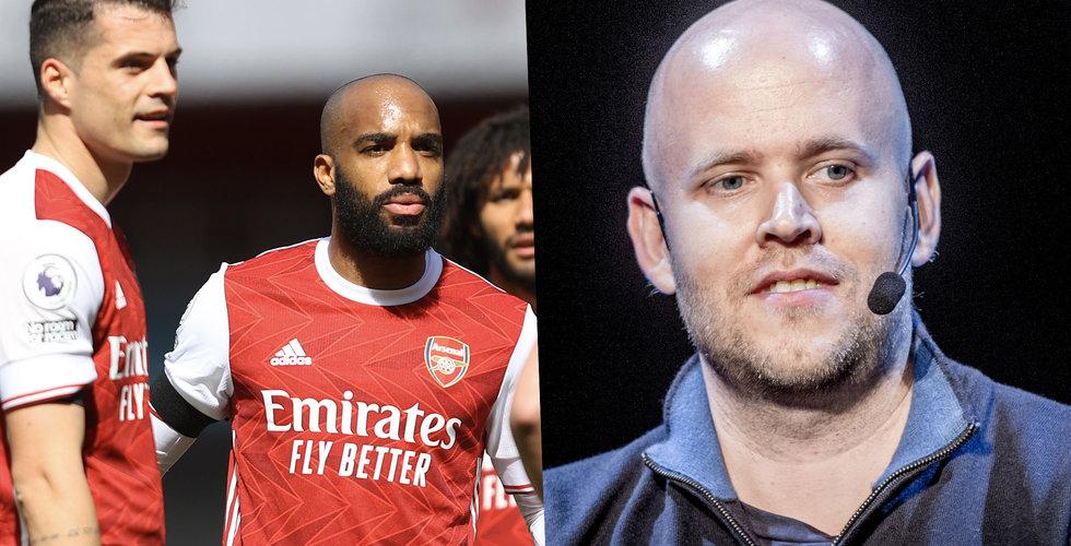 Hur ska Daniel Ek lägga vantarna på Arsenal?