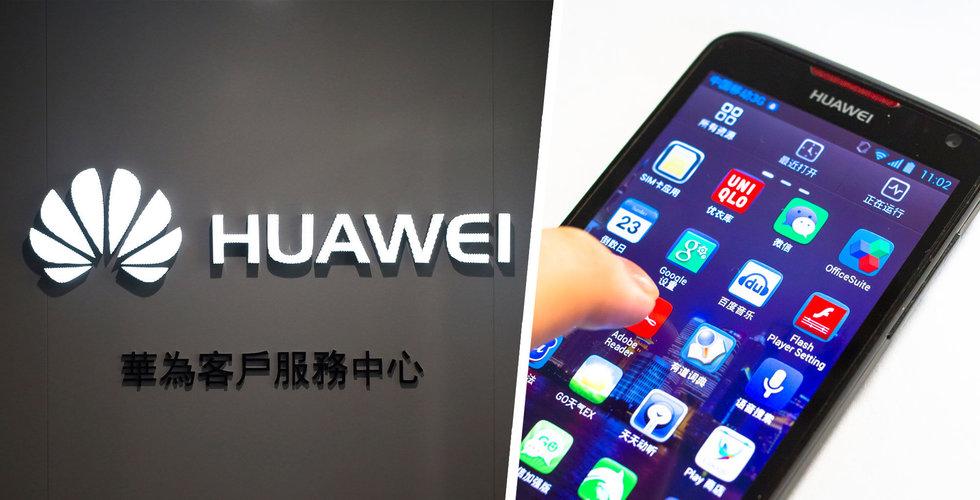 Huawei förbereder sig för jätteras i internationella mobilförsäljningen