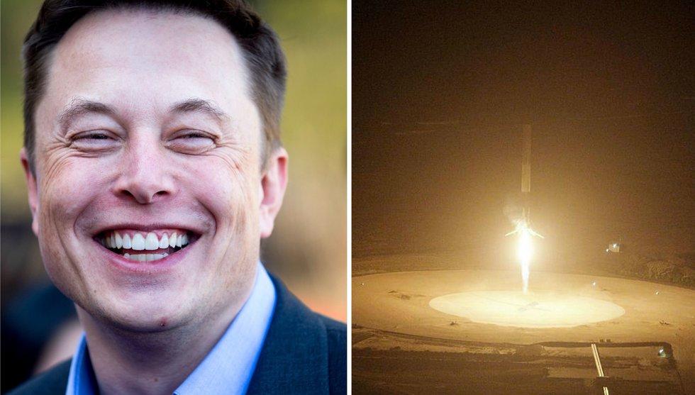 Breakit - SpaceX har kört en raket till rymden och tillbaka - oskadd