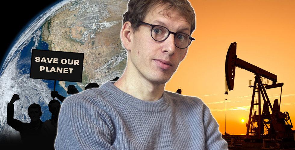"""Därför vill Hampus Jakobsson inte ta oljebolagens pengar: """"De dödar folk långsamt"""""""