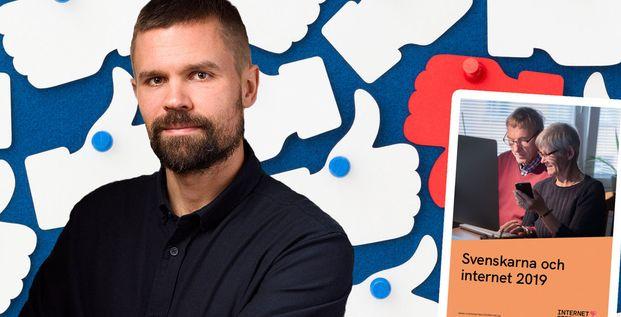 Svenskarna och internet 2019: Sociala medier har peakat