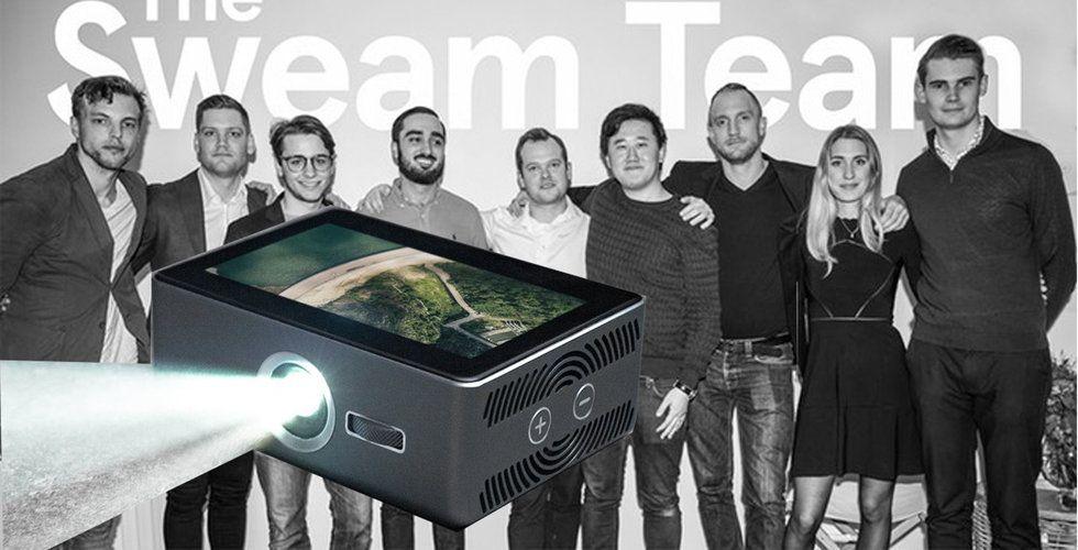 """Sweam tog in kapital till sin """"smarta projektor"""" via Kickstarter – lägger ner"""