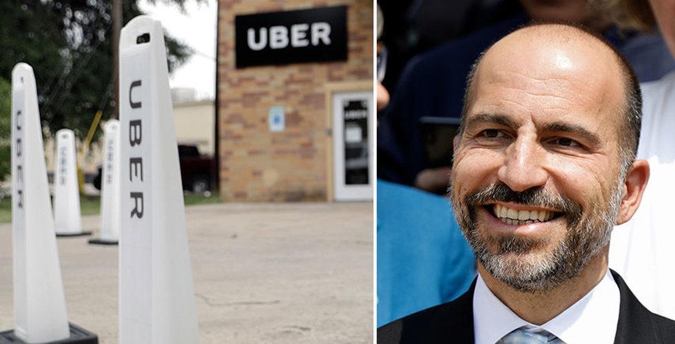 Uber rusade 8 procent i efterhandeln efter att ha dragit tillbaka prognos