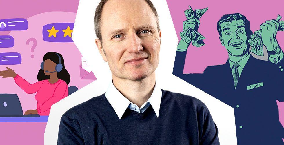 Funnels vd och grundare Fredrik Skantze. Foto: Press/Istockphotos
