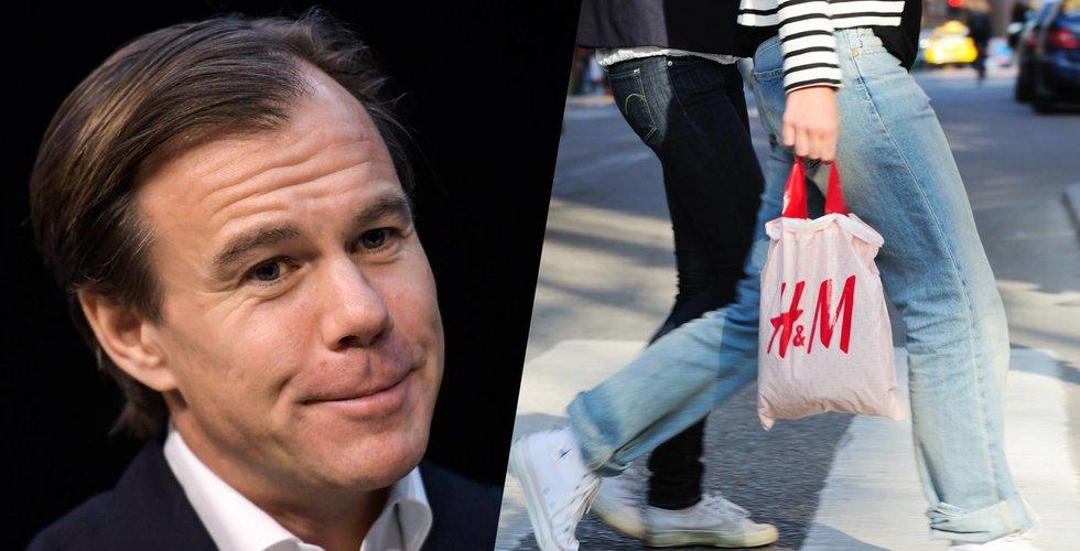 Breakit - H&M:s försäljning oförändrad första kvartalet