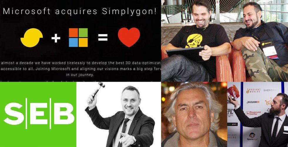 Simplygon-grundarna chashar in – här vinnarna när Microsoft köper Linköpingsbolaget