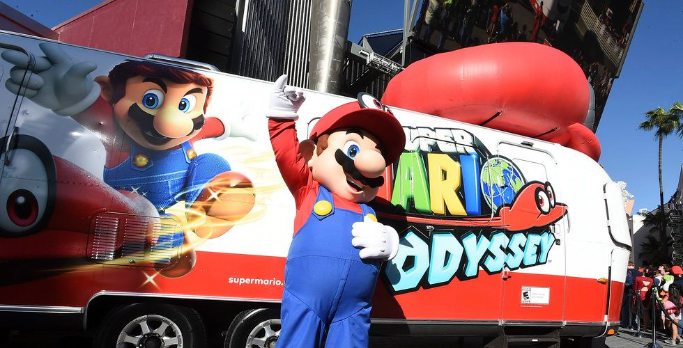 Mario är Nintendos mest kända varumärke.