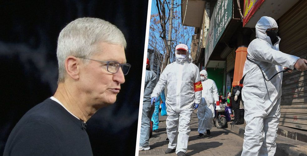 Apple vinstvarnar på grund av coronaviruset