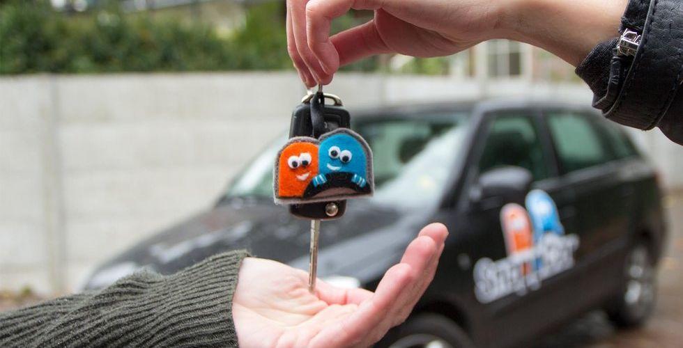 Breakit - Hajpad holländsk startup ska få svenskar att låna grannens kärra