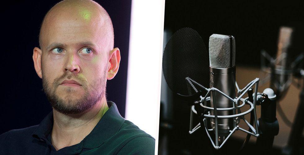 Spotifys podcasts ska bli till tv-program och filmer