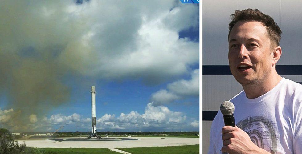 Spacex flyttar fram uppskjutning av Starlink-satelliter på grund av starka vindar