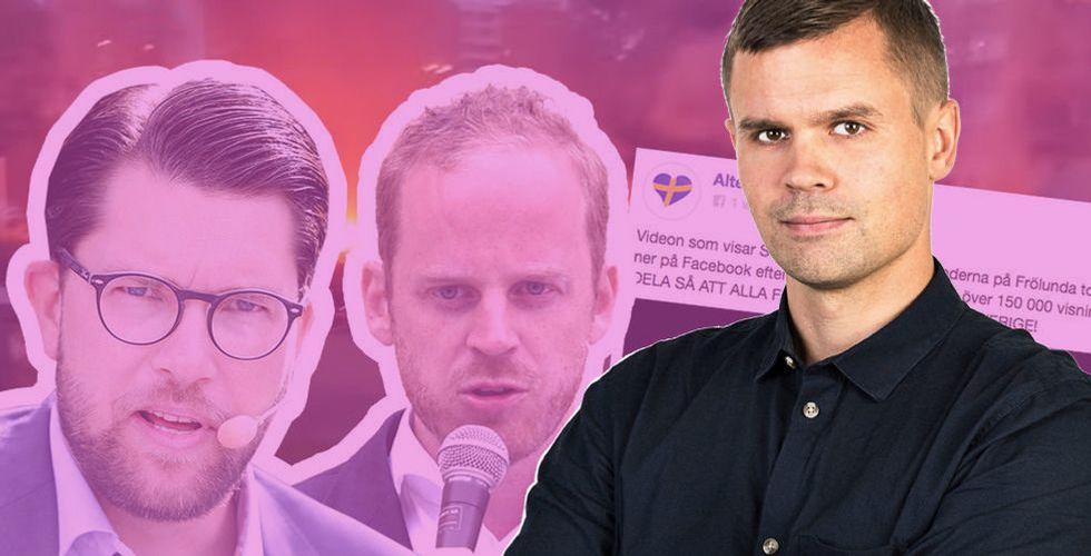 """Wisterberg: """"Argast vinner fortfarande på Facebook – inte i verkligheten"""""""