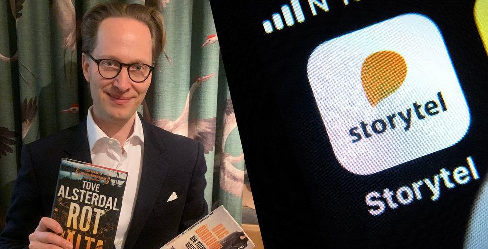 """Kristoffer Lind säljer Lind & Co till Storytel: """"Tänker inte åka till Italien och odla tomater"""""""