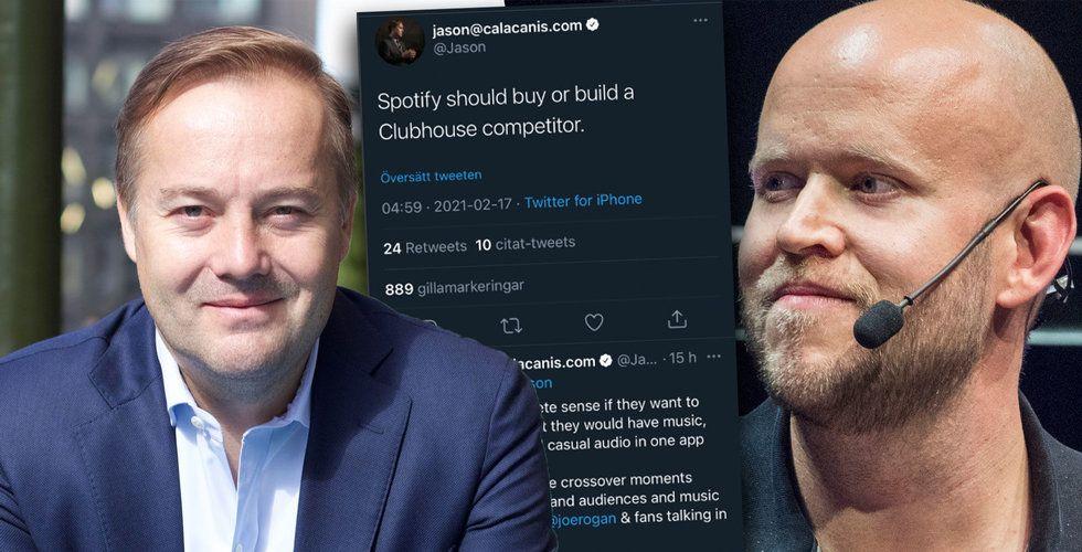 Jason Calacanis: Spotify borde bygga en utmanare till Clubhouse