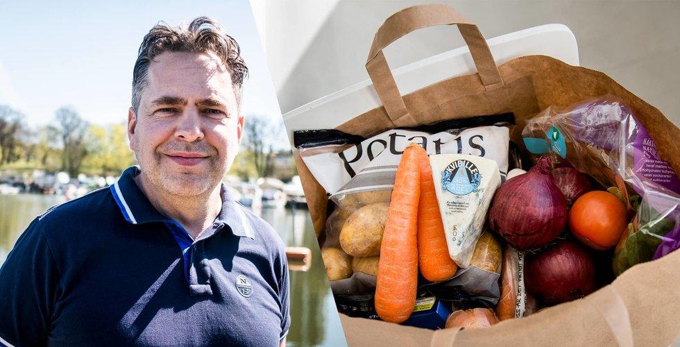 Apotea-grundaren Svärdson vill bli störst även på mat på nätet