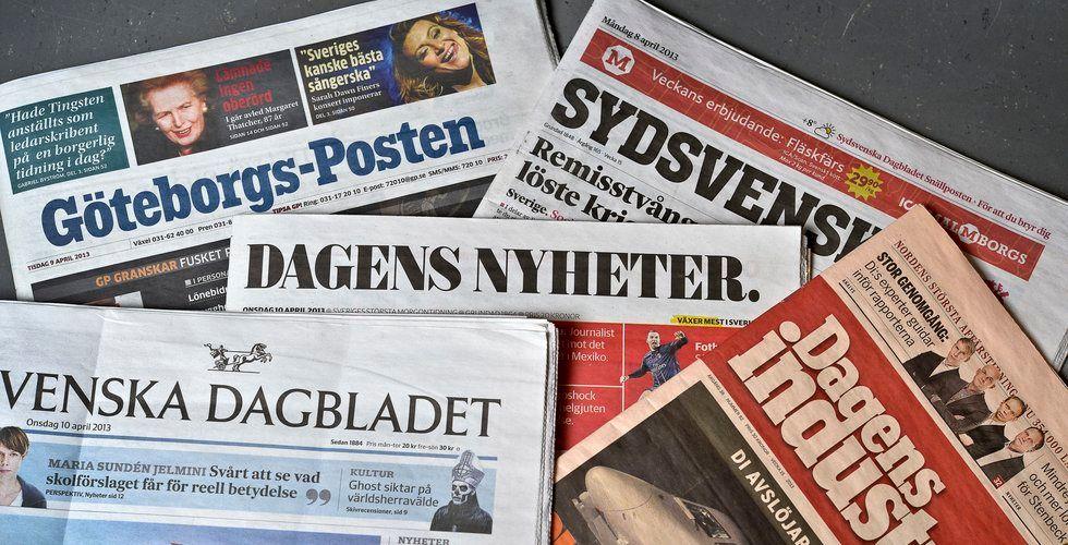 Breakit - Morgontidningarna drar in fler annonskronor på nätet