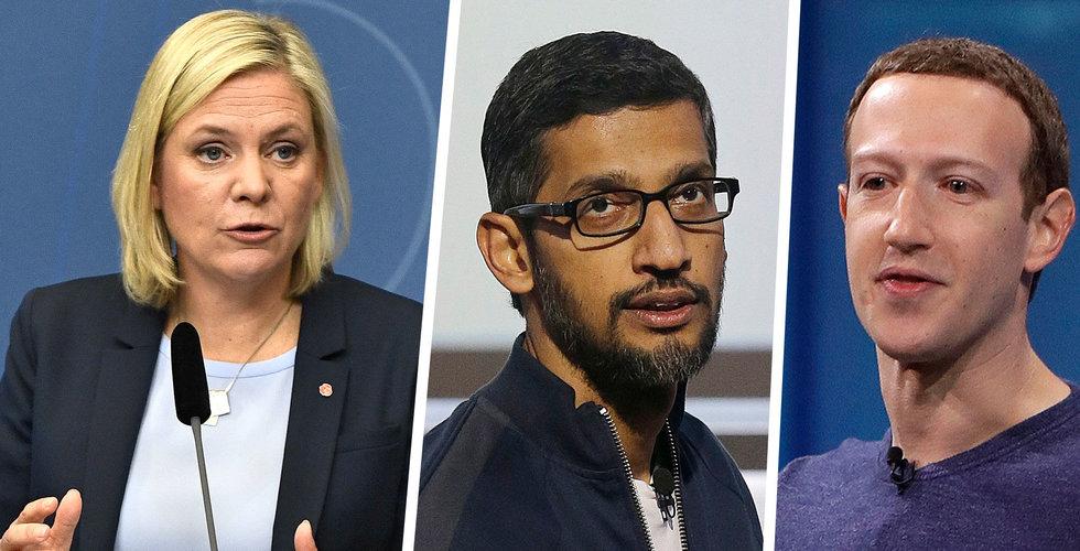 Amerikanska techjättar blåser Magdalena Andersson på miljarder i skatt