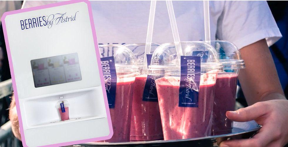 Breakit - Hajpade smoothie-maskinen Berries by Astrid gick i konkurs – men hoppet lever