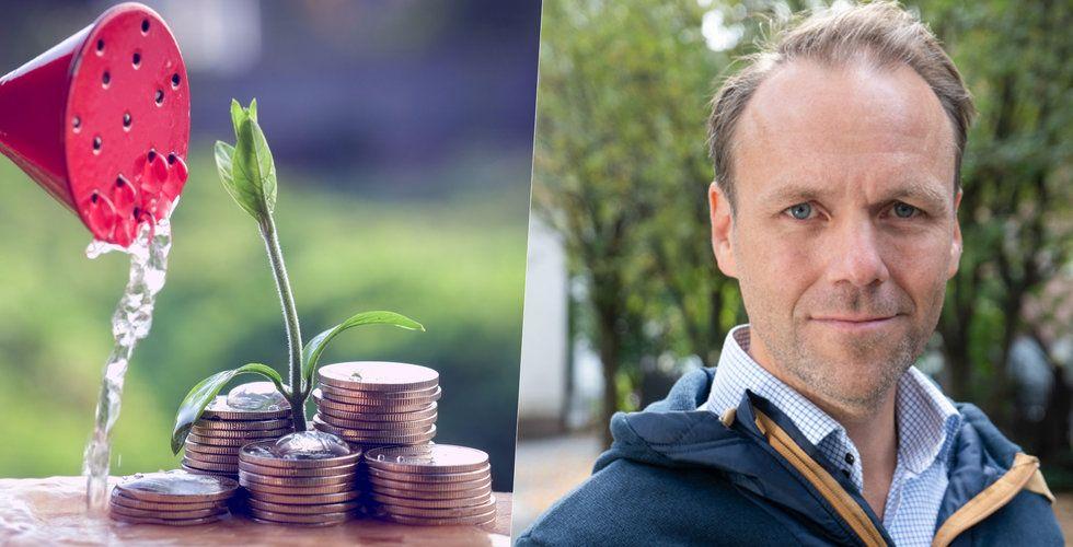 Qred gasar – Emil Sunvisson får in 400 miljoner på ett bräde till sin startup