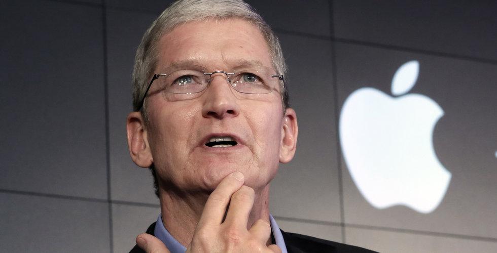 Apple överraskar marknaden positivt – aktien går starkt